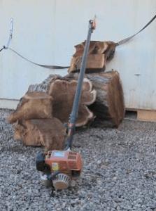 Gas powered pole pruners