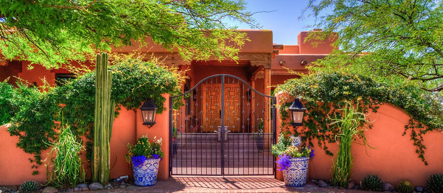 Custom landscaping in Tucson