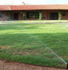 Irrigation in Tucson
